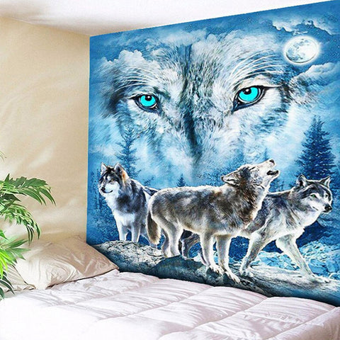 Wolves Of Winter Tapestry