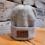 Cuffed Knit Toque With Patch