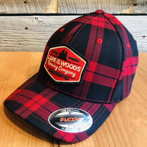 Fitted Plaid Hat