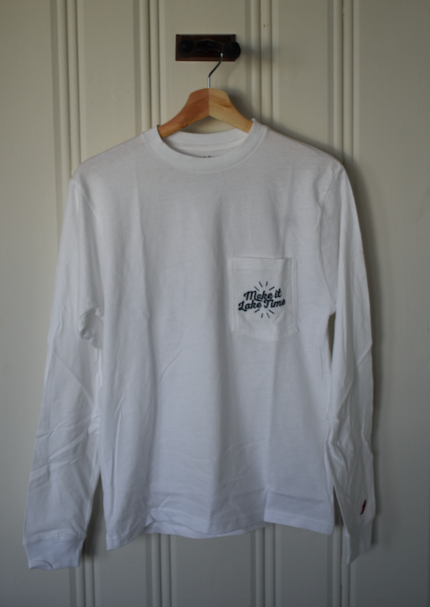 Make it Lake Time Long Sleeve - White