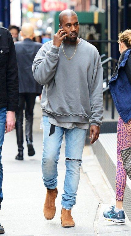 Kanye West inspired Chelsea Boots You
