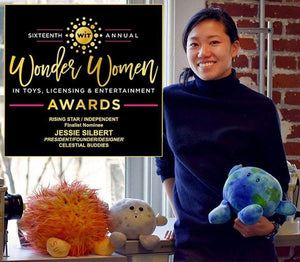 "Celestial Buddies President and Designer Jessie Silbert named Finalist for 2020 Women in Toys ""Wonder Woman"" Award"