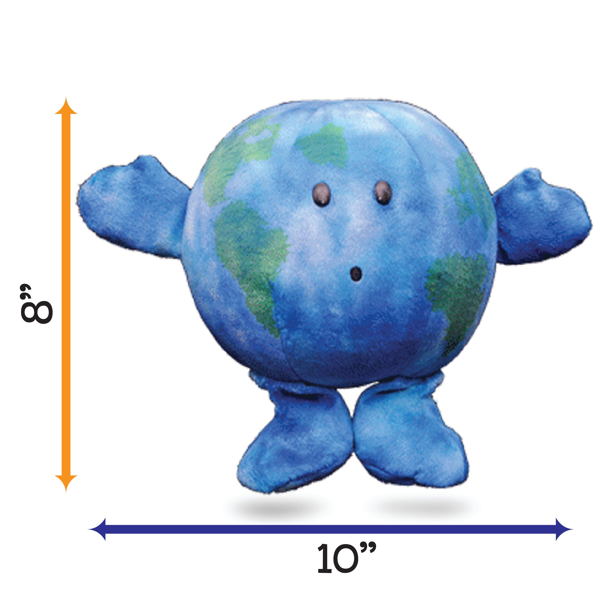 "Earth Celestial Buddy - ""Little Earth""; "" Earthy"";   Educational Space Station toy"