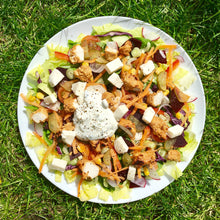 Load image into Gallery viewer, Chicken tikka, mozzarella and pickled cabbage salad
