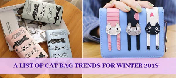A List Of Cat Bag Trends For Winter 2018