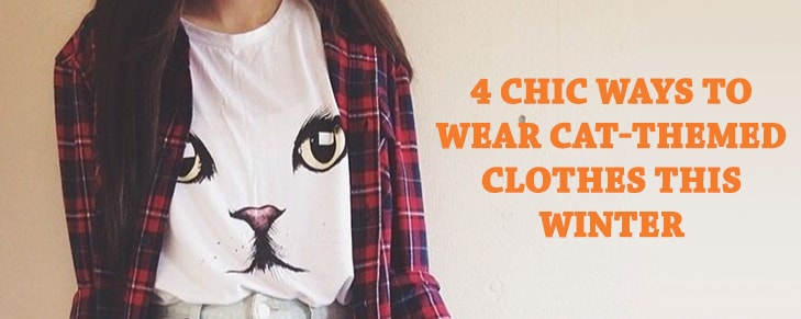 4 Chic Ways to Wear Cat-Themed Clothes This Winter