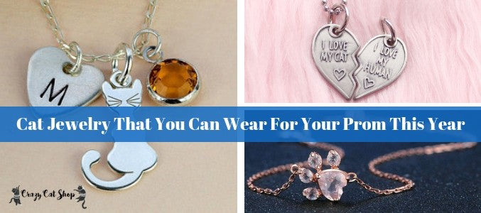 Cat Jewelry That You Can Wear For Your Prom This Year