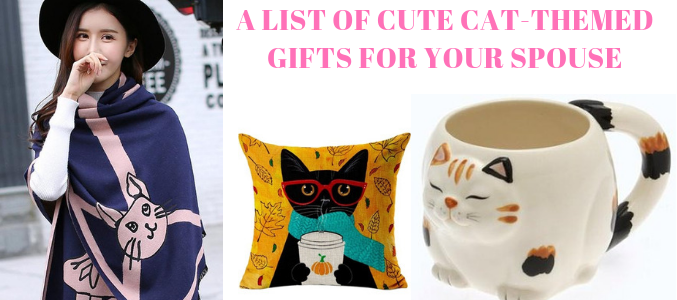 A List Of Cute Cat-Themed Gifts For Your Spouse