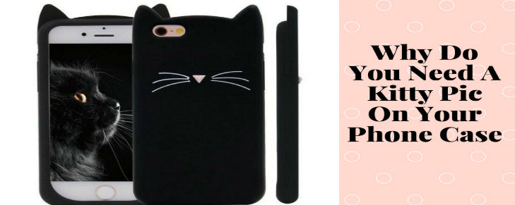 Why Do You Need A Kitty Pic On Your Phone Case?