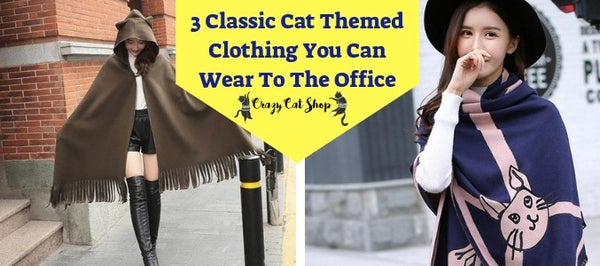 3 Classic Cat-Themed Clothing You Can Wear To The Office