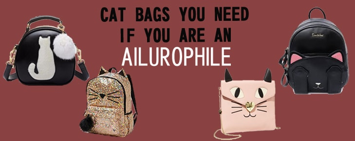 4 Types of Cat Bags You Need If You Are An Ailurophile!