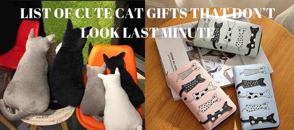 List Of Cute Cat Gifts That Don't Look Last Minute