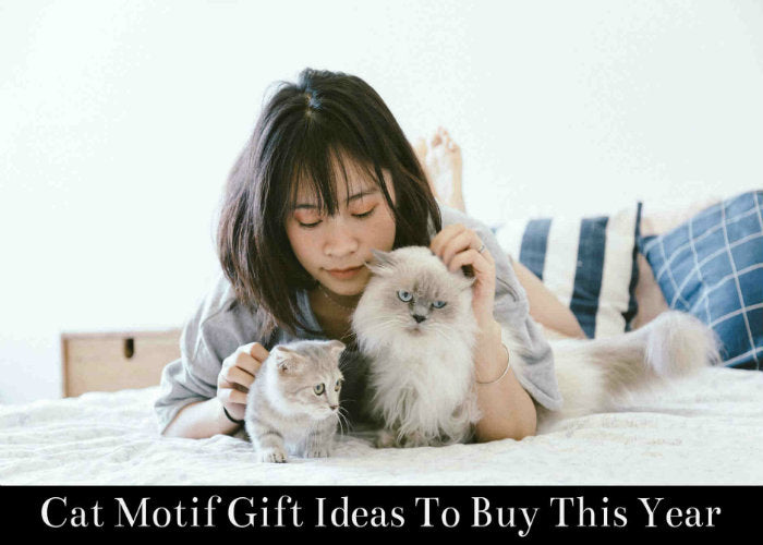 Cat Motif Gift Ideas To Buy This Year