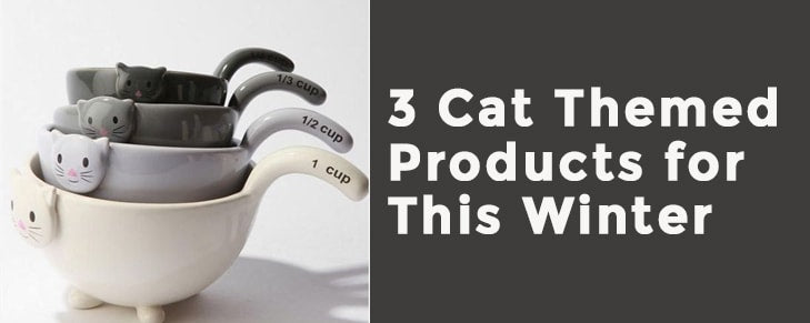 3 Cat-Themed Products You Can Splurge On This Winter