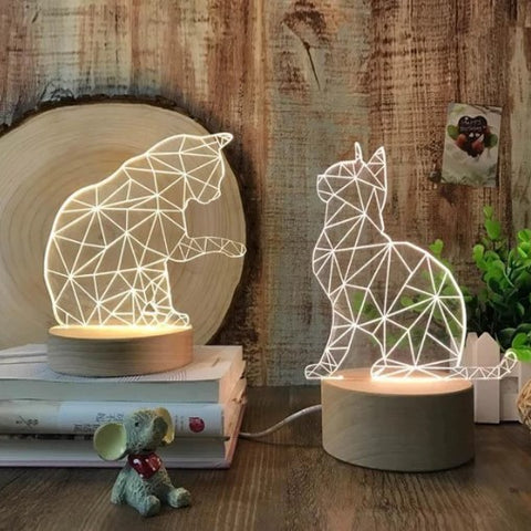 Cat Lamp Led
