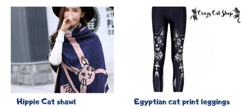 cat themed apparel