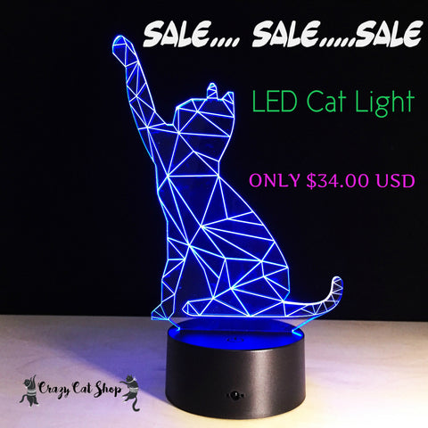 cat led light