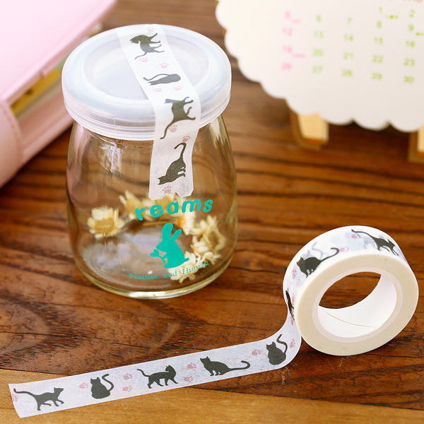 Crazy Cat Decorative Washi Tape