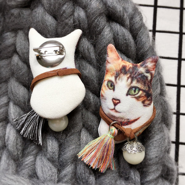 My Pet Cat 3D Brooch