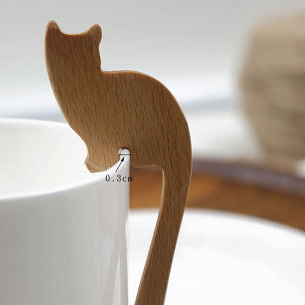 Haute Cat Fork, Spoon & Stirrer Set