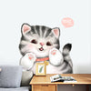 Chubby Kitty Wall Sticker