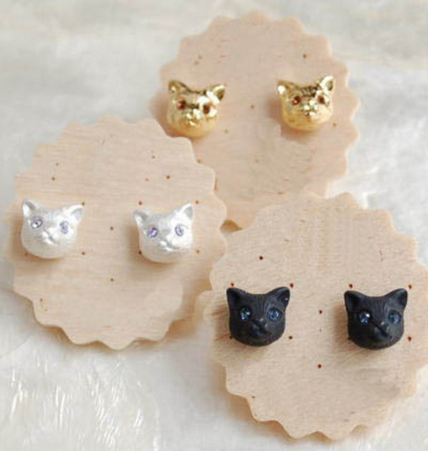 Only My Cat Understands Me Earrings - One Cool Gift  - 1