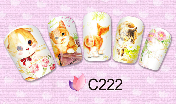 Cat Lover Nail Art Decals - One Cool Gift  - 4