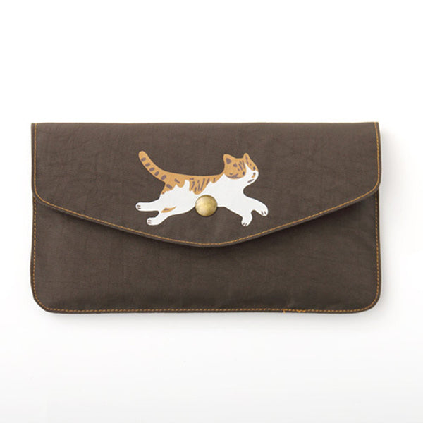 Frisky The Cat Wallet Purse