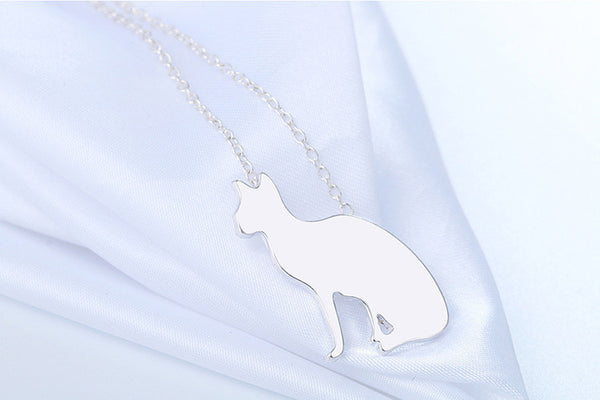Stealth Cat Necklace