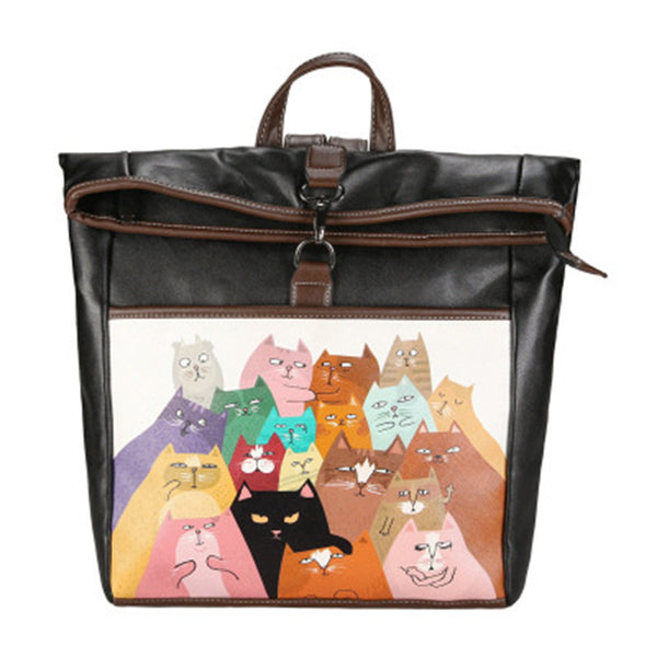 Cats Love Selfies Backpack