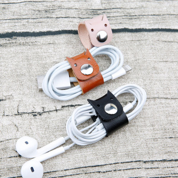 Simple Cat Earphones Organizer Set