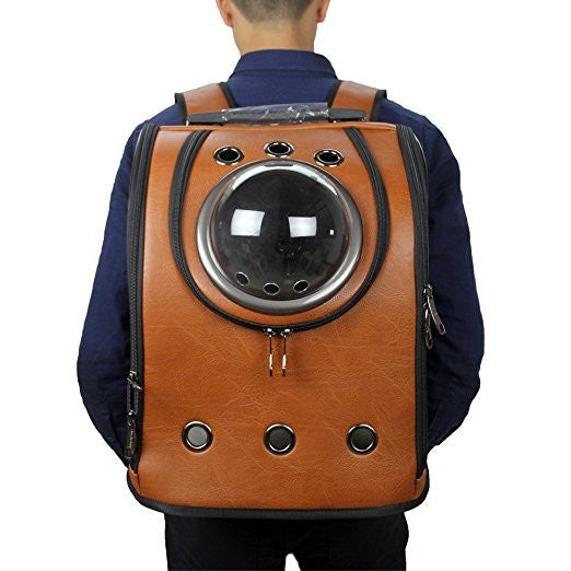 Space Age Cat Carrier Bag