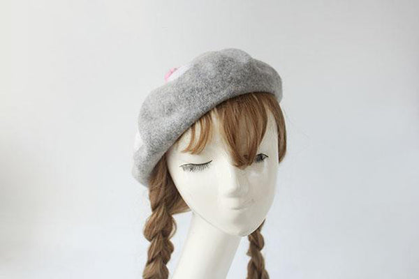 The Caturday Handmade Beret Hat