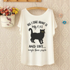 All I Care About Is My Cat Long Tee