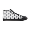 Cat Paw Print Women Hightop Shoes