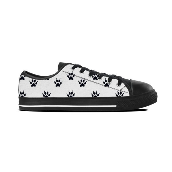 Cat Paw Print Women Lowtop Shoes