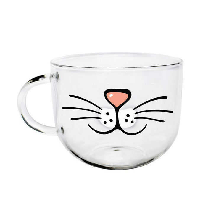 The Crazy Cat Face Cup