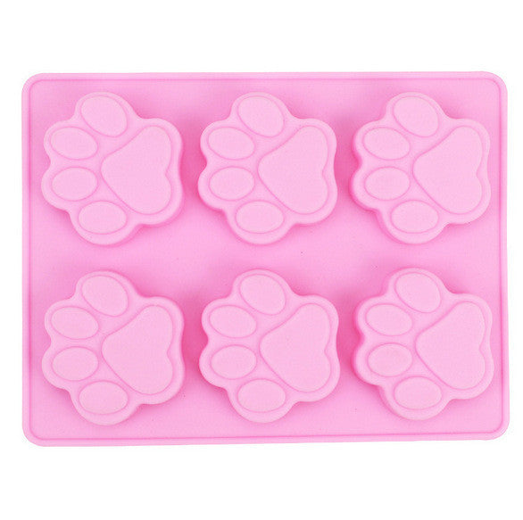 Crazy Cat Paw Silicone Mold