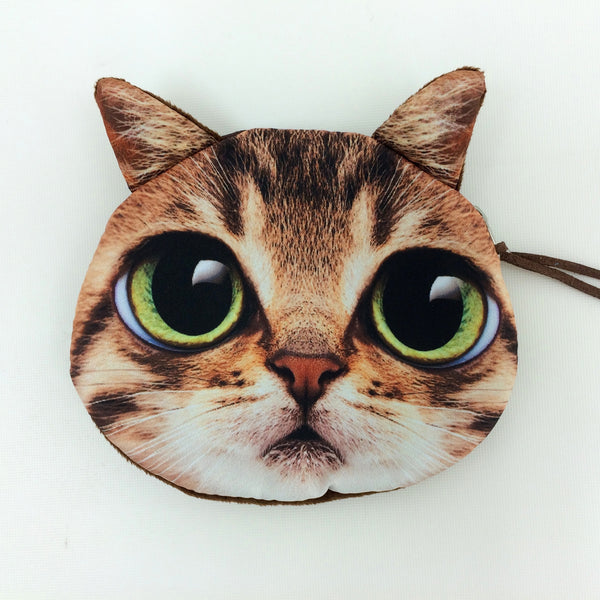 Crazy Cat Lover Coin Purse Collection - Limited Time Buy One Get Two Free! - One Cool Gift  - 3