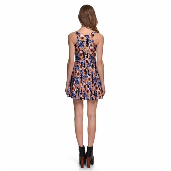 Crazy Cat Lady Skater Dress