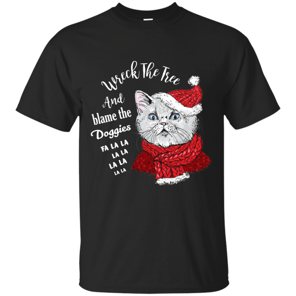 Limited Edition Blame The Doggies Christmas Tee
