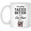 Everything Tastes Better With Cat Hair Mug 11 oz.