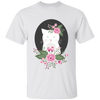 Floral Cat Tee
