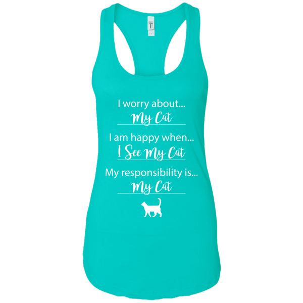 Fill In The Blank Racerback Tank