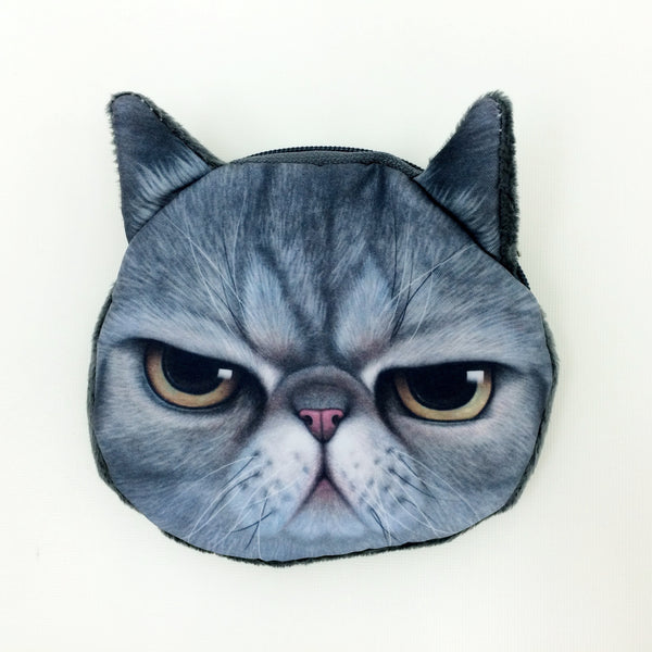 Crazy Cat Lover Coin Purse Collection - Limited Time Buy One Get Two Free! - One Cool Gift  - 8