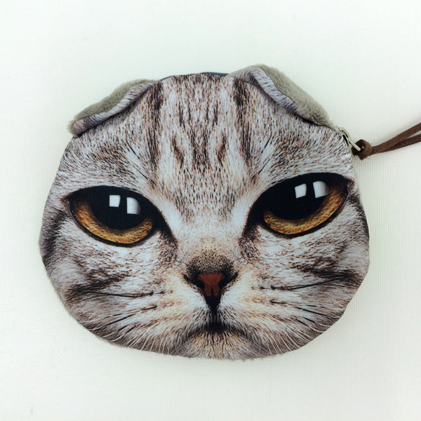 Crazy Cat Lover Coin Purse Collection - Limited Time Buy One Get Two Free! - One Cool Gift  - 7