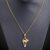The Golden Kitten 18K Gold Plated Necklace