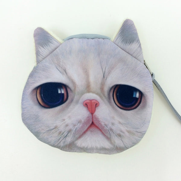 Crazy Cat Lover Coin Purse Collection - Limited Time Buy One Get Two Free! - One Cool Gift  - 4