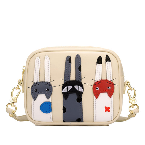 Cute Cats Trio Sling Bag