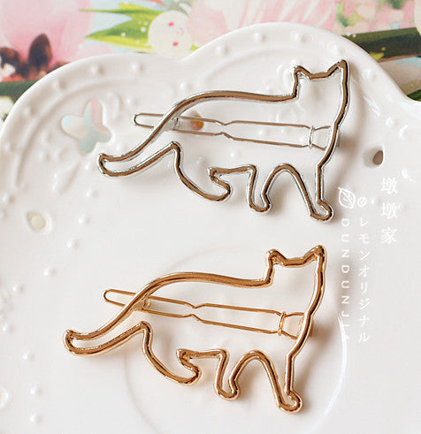 Simply Cat Hair Clip Set